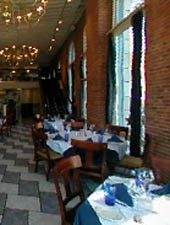 Dining room at Blue Point Grille, Cleveland, OH