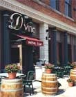 Dining room at D'Vine Wine Bar, Cleveland, OH