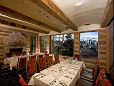 Dining room at Allred's Restaurant, Telluride, CO