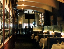 Dining room at M Restaurant, Columbus, OH