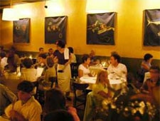 Dining room at FIG, Charleston, SC