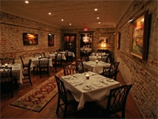 Dining room at McCrady's, Charleston, SC