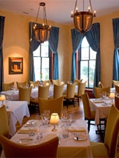 Dining Room at Oak Steakhouse, Charleston, SC