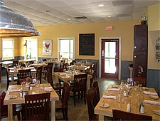 Dining room at Fat Hen, Johns Island, SC