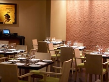 Traditional Indian cuisine is served in a contemporary setting at Rasika in Washington DC