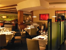 Dining room at Abacus, Dallas, TX
