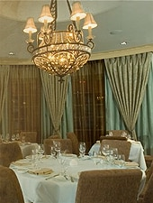 Dining room at Bijoux, Dallas, TX