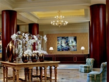 Dining room at The Lobby Lounge, Dallas, TX