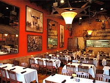 Dining Room at Y.O. Ranch Steakhouse, Dallas, TX