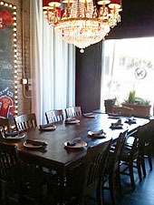 Dining room at Il Cane Rosso, Dallas, TX