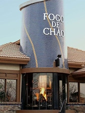 Dining room at Fogo de Chao, Addison, TX