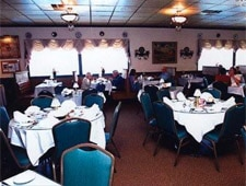 Dining room at Hungarian Rhapsody, Southgate, MI