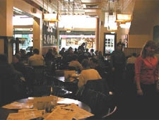 Dining room at Common Grill, Chelsea, MI