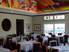 Dining room at Bacco, Southfield, MI