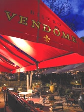 Dining room at Bistro Vendome, Denver, CO