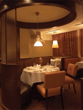 Dining room at Moro, Wilmington, DE