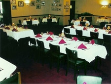 Dining room at Gene's Steak House, Daytona Beach, FL