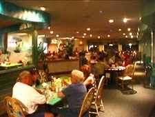 Dining Room at Inlet Harbor Marina & Restaurant, Ponce Inlet, FL