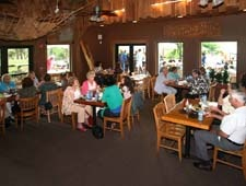 Dining room at River Grille on the Tomoka, Ormond Beach, FL