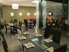Dining room at Red Crab, Guayaquil, ecuador