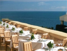 Dining room at Panorama, Saint Jean Cap Ferrat, france