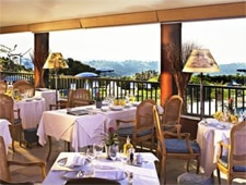 Dining room at Bougainvillier, Saint Paul de Vence, france