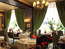 Dining room at Rendez-vous de Chasse, Colmar, france
