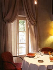 Dining room at Christian Etienne, Avignon, france