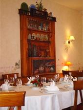 Dining room at Au Rendez-Vous des Pecheurs, Blois, france