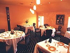 Dining room at L'Amphitryon, Lorient, france