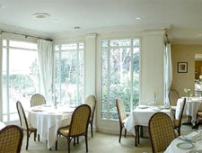 Dining room at La Griotte, Rennes, france