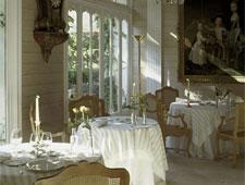 Dining room at Les Pres d'Eugenie--Michel Guerard, Eugénie-les-Bains, france