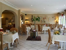 Dining room at Le Renaissance, Mont-de-Marsan, france