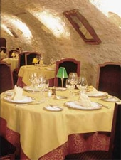 Dining room at Restaurant Marco, Lamagdelaine, france