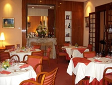 Dining Room at Restaurant Le Foch, Reims,