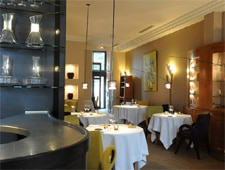 Dining room at Michel Sarran, Toulouse, france