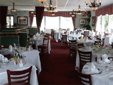 Dining room at Cafe on the Green, Danbury, CT