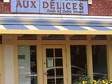Dining room at Aux Delices Foods by Debra Ponzek, Riverside, CT