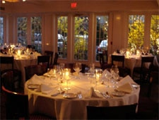 Dining room at Valbella, Old Greenwich, CT