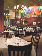 Dining room at Max Downtown, Hartford, CT