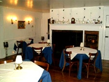 Dining room at Adrienne, New Milford, CT