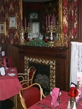 Dining room at Alfred's Victorian Restaurant, Middletown, PA