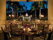 Dining Room at DUO, Wailea, HI