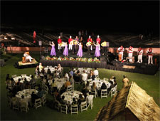 Dining room at Aha'Aina, a Royal Celebration, Honolulu, HI