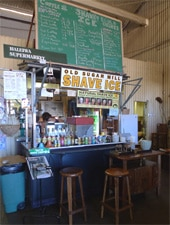 Dining Room at Sugar Mill Shave Ice, Waialua, HI