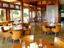 Dining room at Hualalai Grille, Kaupulehu Kona, HI