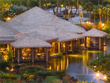 Tidepools is one of the most romantic restaurants in Hawaii