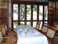 Dining room at La Mer, Honolulu, HI