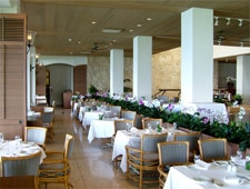 Dining room at Orchids, Honolulu, HI