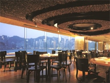 Dining Room at Nobu InterContinental Hong Kong, Kowloon,